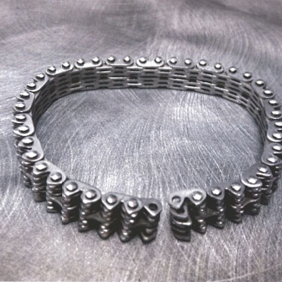 Custom Huey Helicopter Chain Made Into A Rare Bracelet By