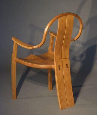 Custom Made Stonington Continuous Arm Chair