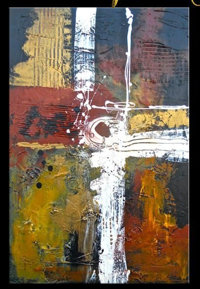 Textured Modern Abstract Painting Contemporary Art: