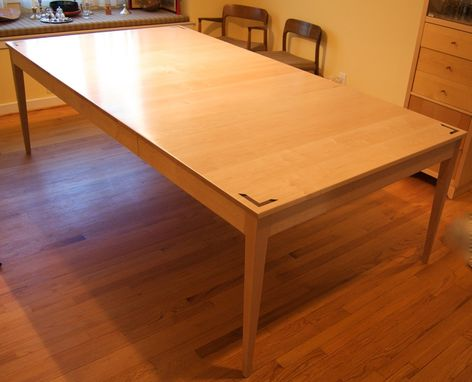 Custom Made Maple Extension Table