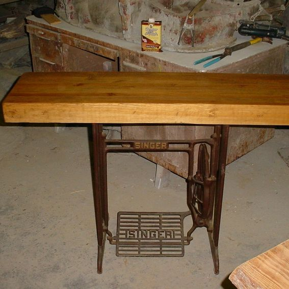 Kitchen Island Made From Old Desk: Hand Made Repurposed Tables, Desk, And Kitchen Islands By