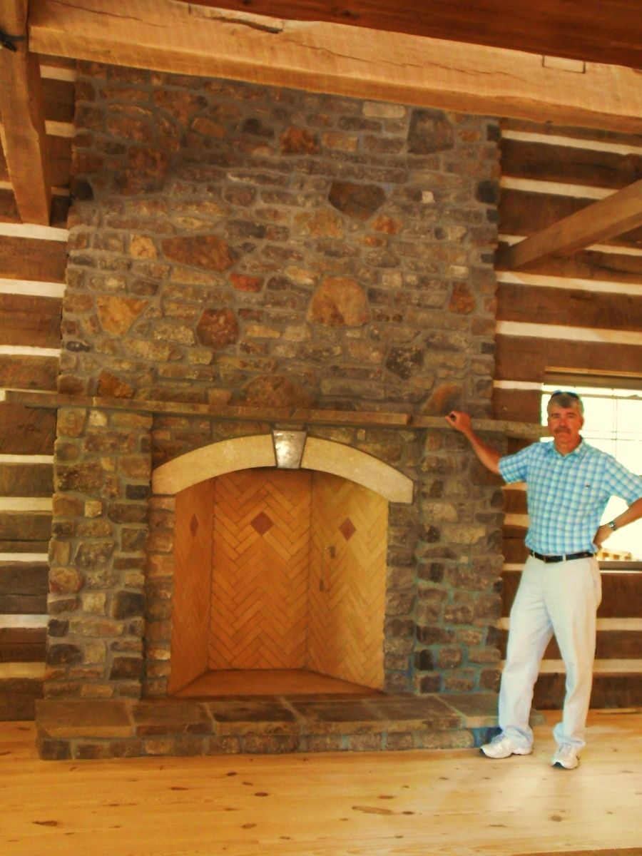 Handmade 48 Quot Rumford Fireplace In Hermann Mo By Stone