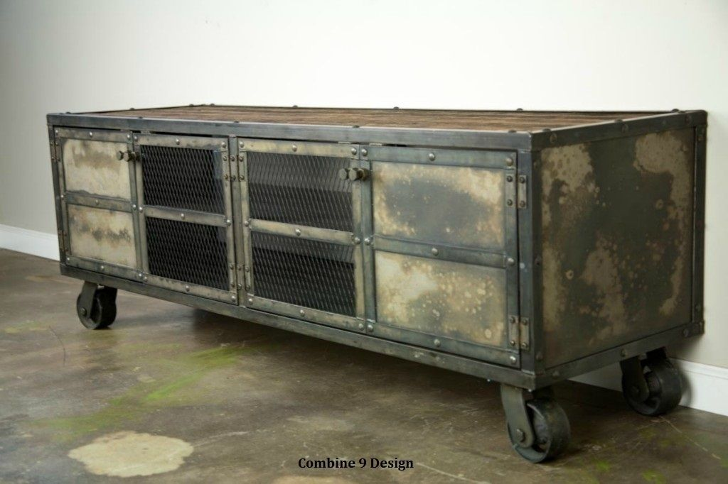 Buy a Hand Crafted Urban Vintage Industrial Media Console  : 47561475289 from www.custommade.com size 1024 x 682 jpeg 81kB