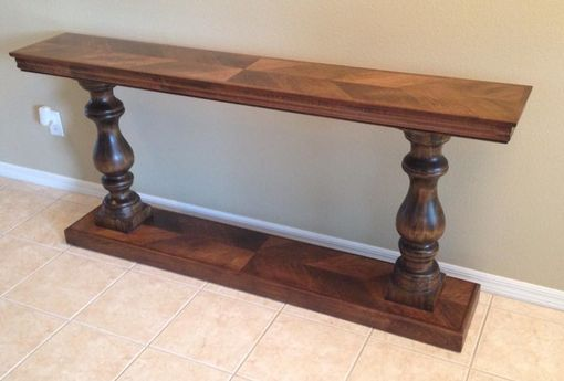 Handmade Console Table By Stage One Designs CustomMadecom