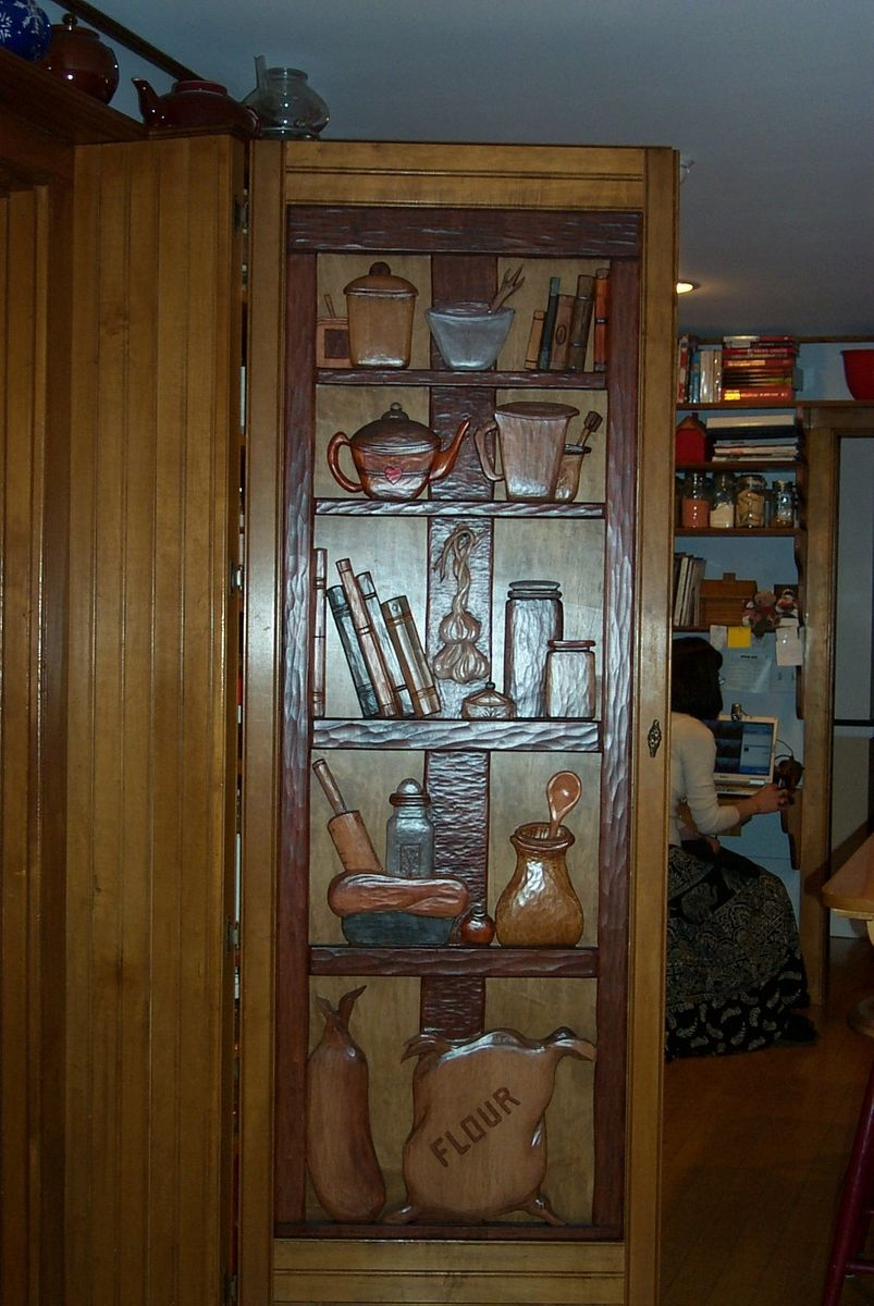 hand made pantry door by hugo mesa studio custommadecom With custom made pantry doors
