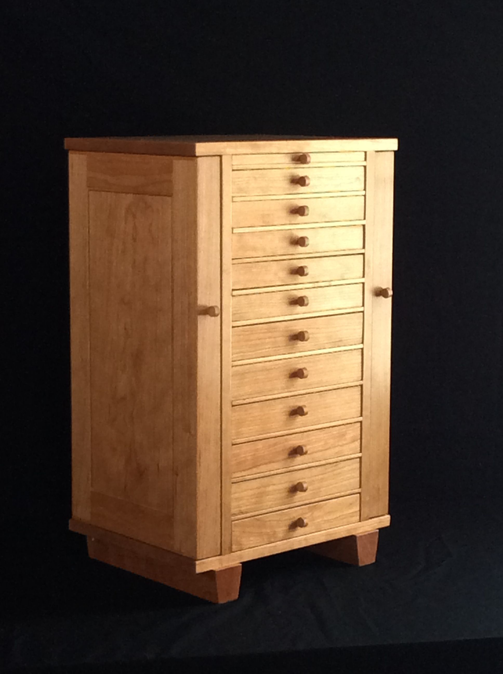 Buy a Hand Made Jewelry Armoire, made to order from David ...