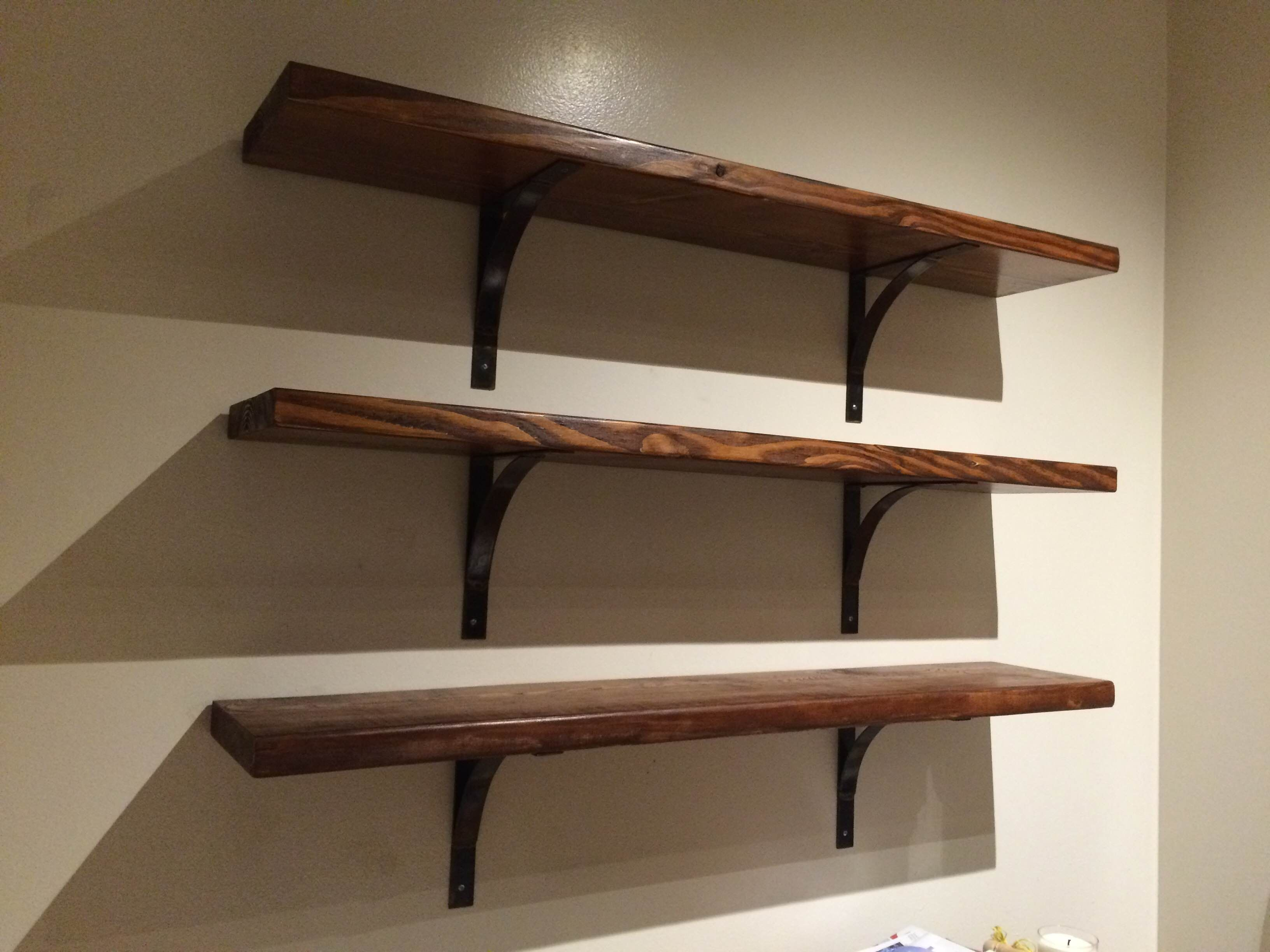 Fun Diy Home Decor Ideas Hand Crafted Handmade Industrial Steel Shelf Bracket By