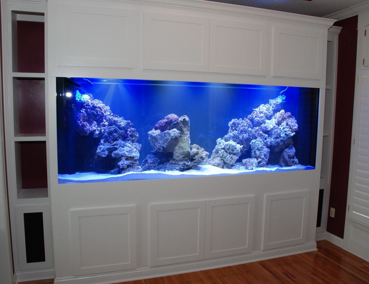 Custom Aquarium Stand Cabinet By Belak Woodworking Lls