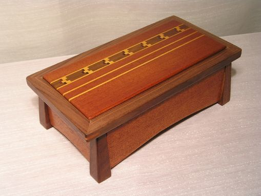 Custom Made Woodstock Jewelry Box
