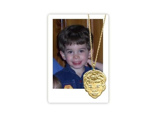 Custom Made Babyfaces Charms And Pendants - 14kt Gold