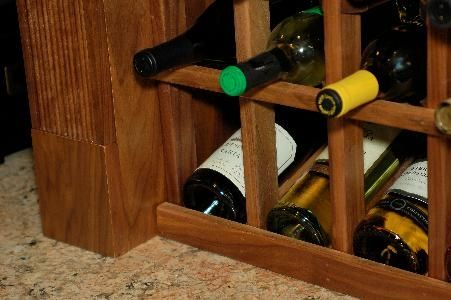 Custom Made Custom Wine Rack