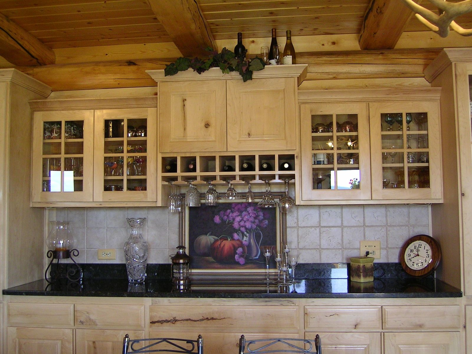 Custom kitchen cabinets by western woodworking for Western kitchen cabinets