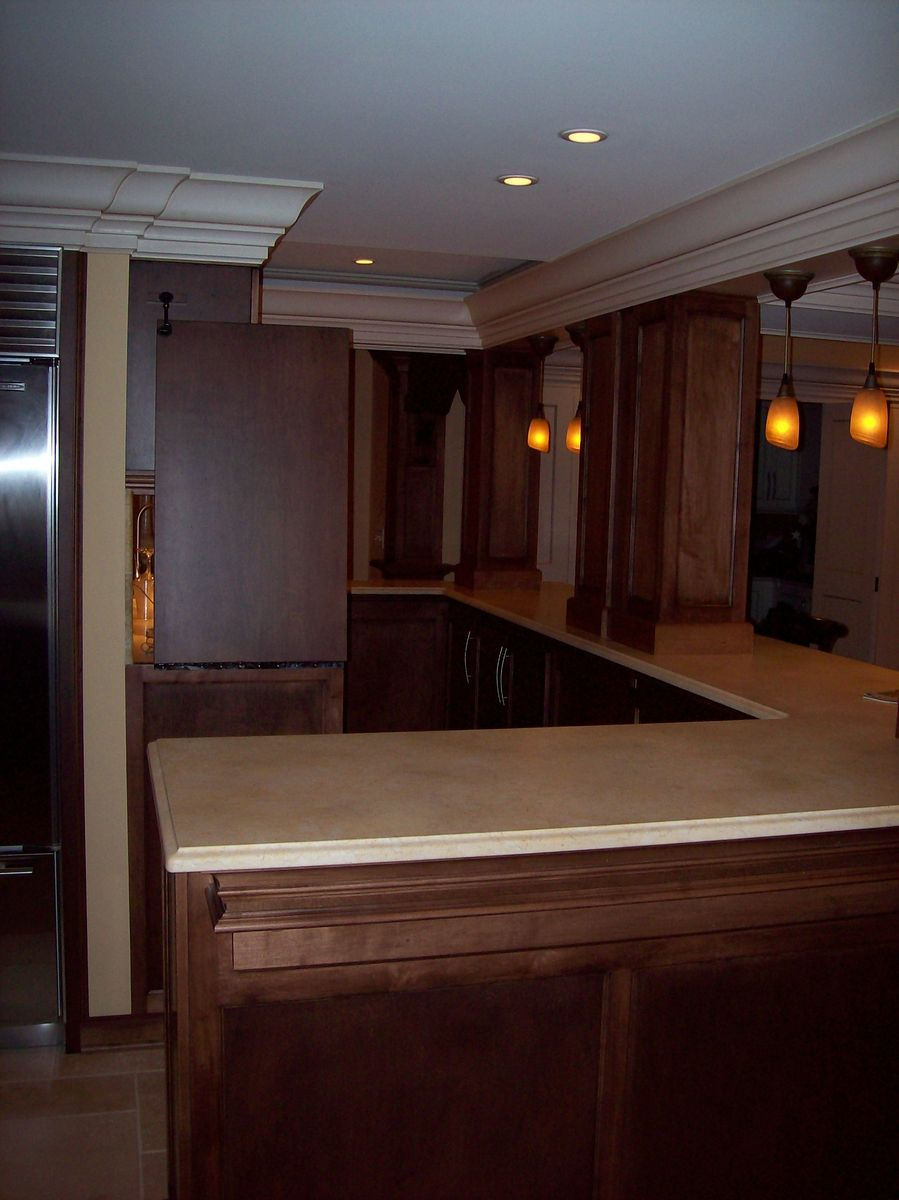 Custom Wet Bar By Woodworking Unlimited Inc