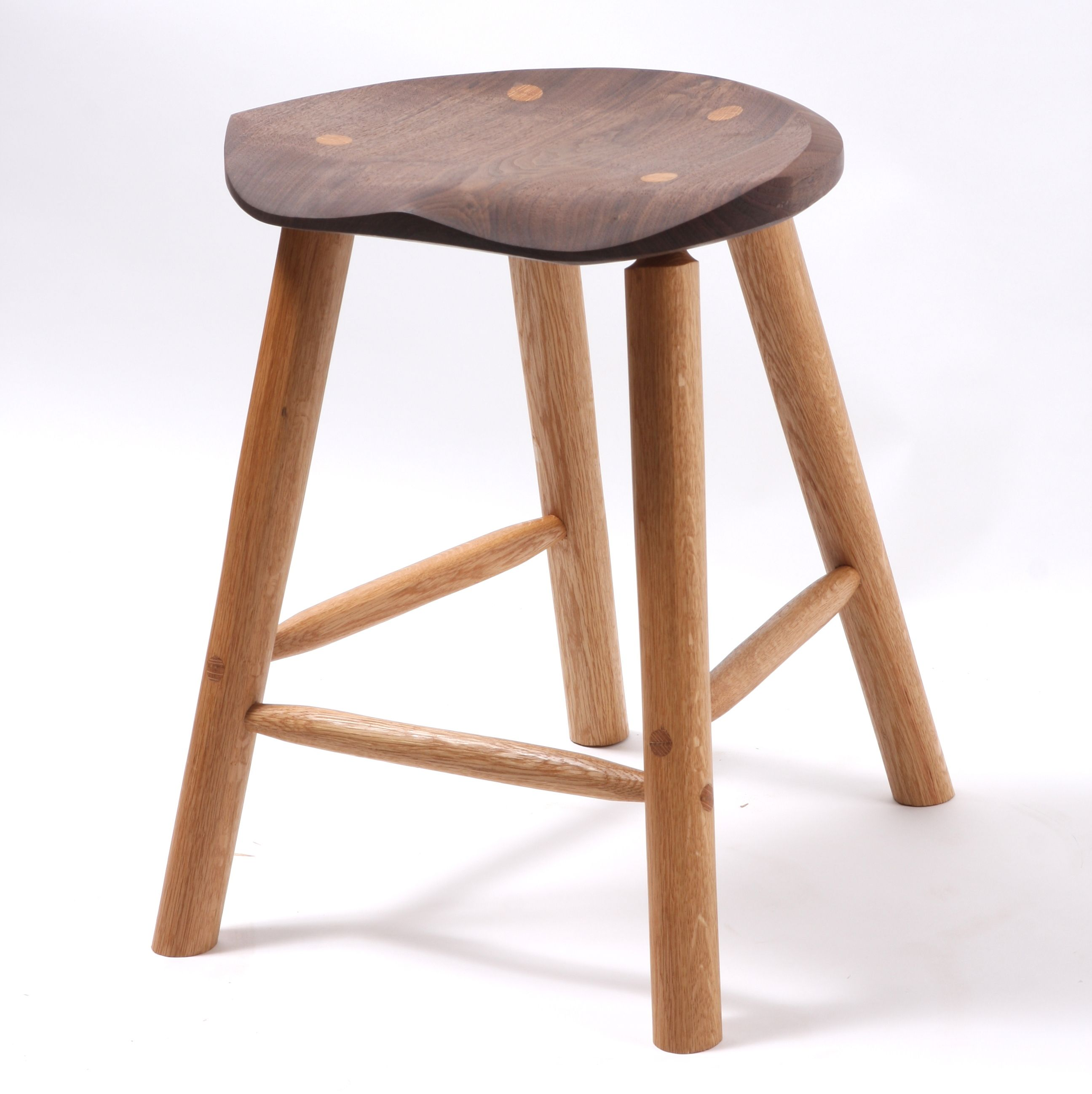 Handmade Textured Cherry Bar Or Counter Stool by Fabian  : 2244461055886 from www.custommade.com size 2592 x 2597 jpeg 303kB