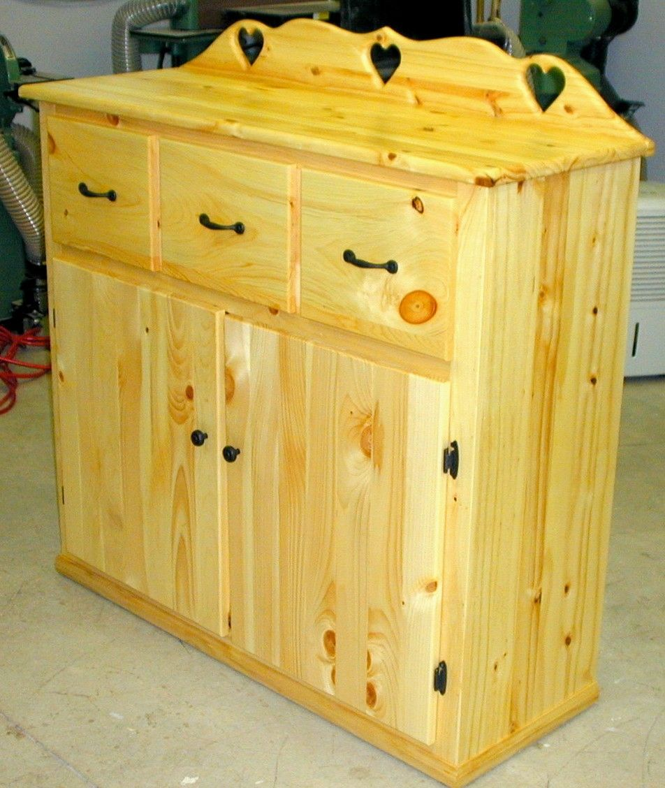 Hand Crafted Country Style Storage Cabinet by The Plane ...