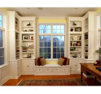 Custom Made Library Room