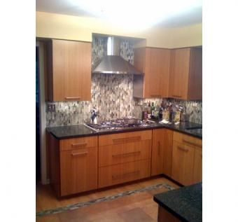 Custom Made Custom Bamboo Kitchen