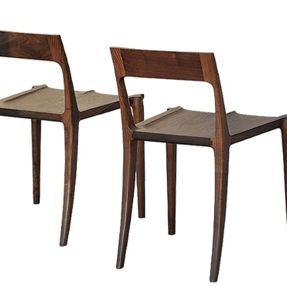 Hand Crafted Low Back Dining Chair By White Design