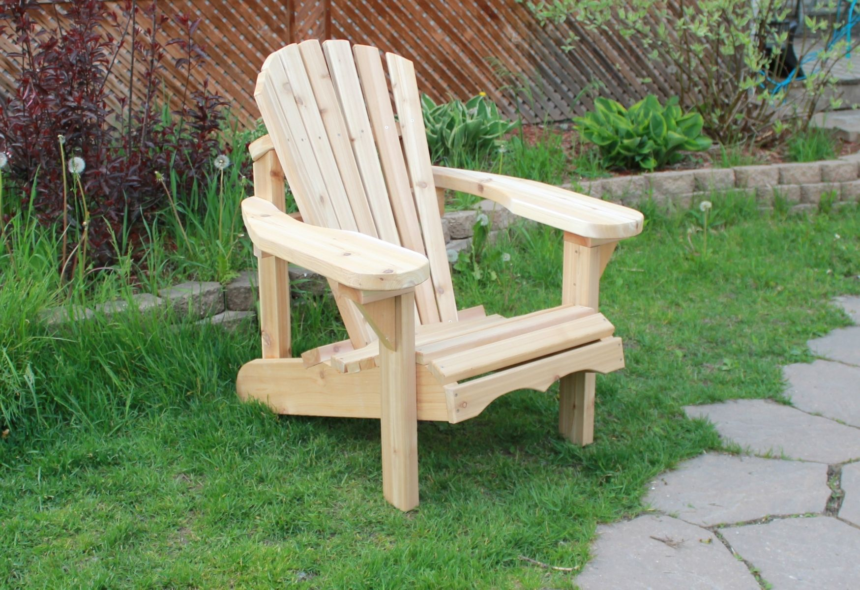 Custom Cedar Adirondack Chair By Checkoutmywood