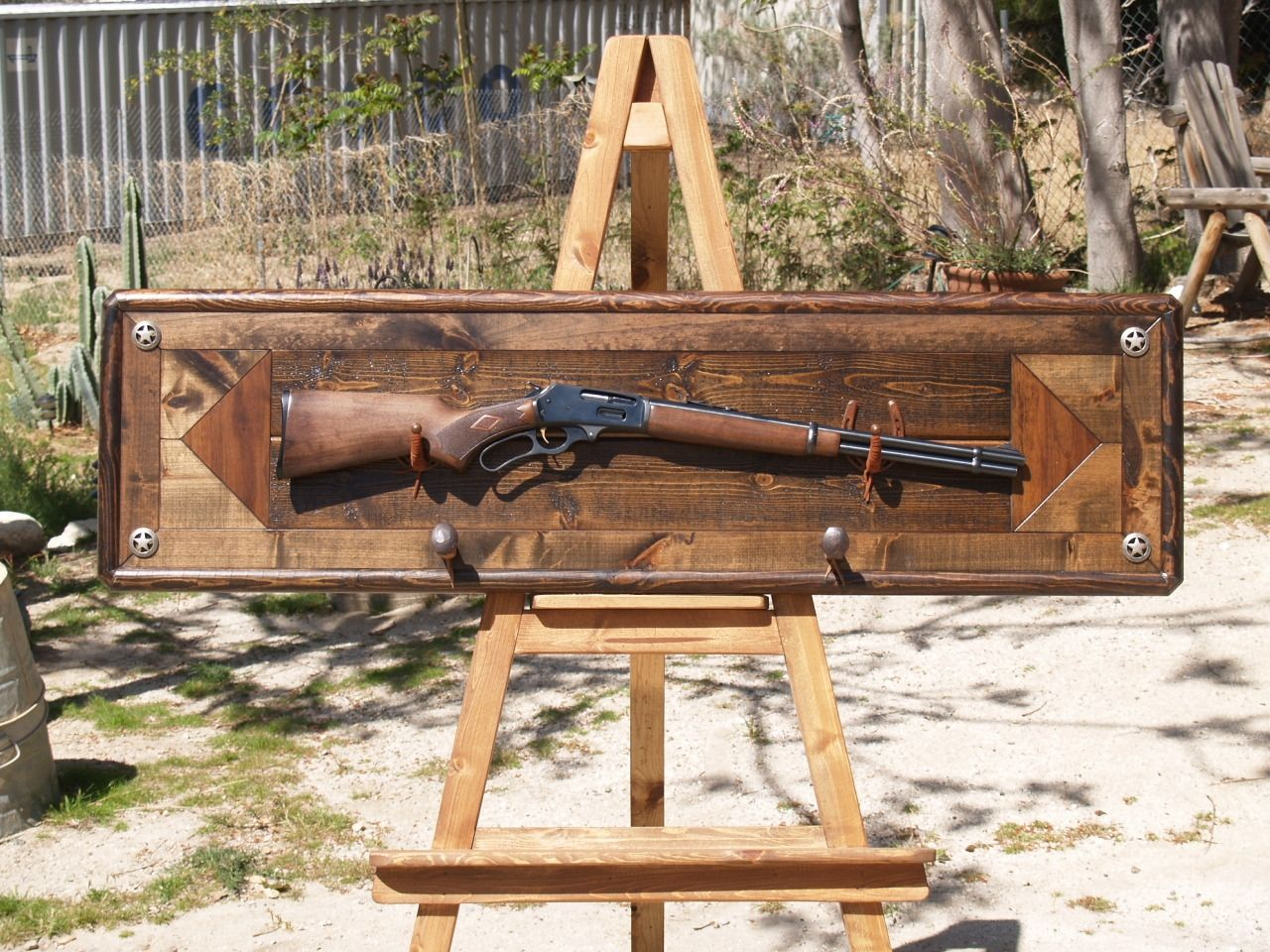 Custom Gun Rack By Art Of Wood Custommade Com