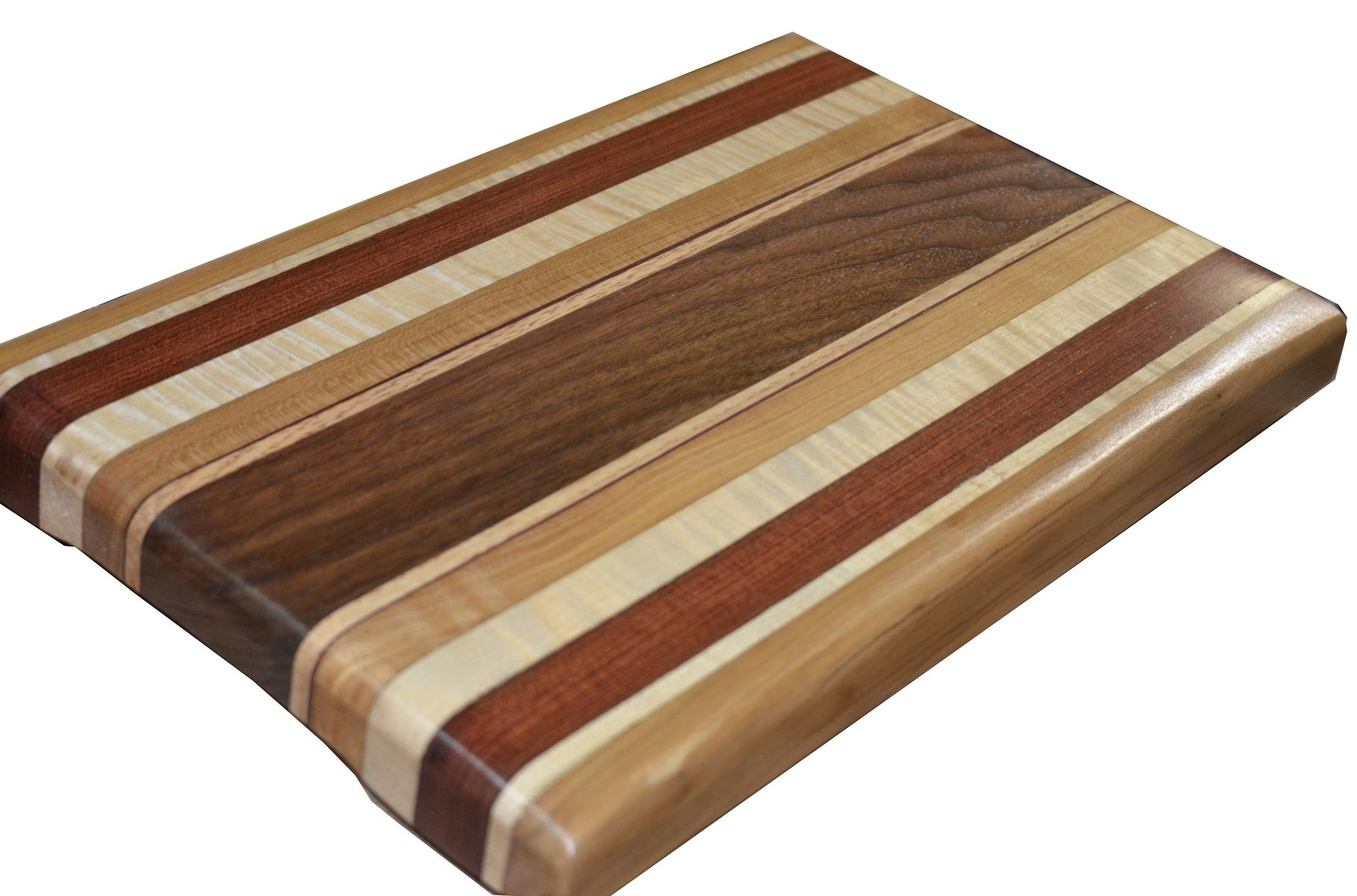 buy a custom made exotic wood cutting board full size made to order from the joys of wood. Black Bedroom Furniture Sets. Home Design Ideas