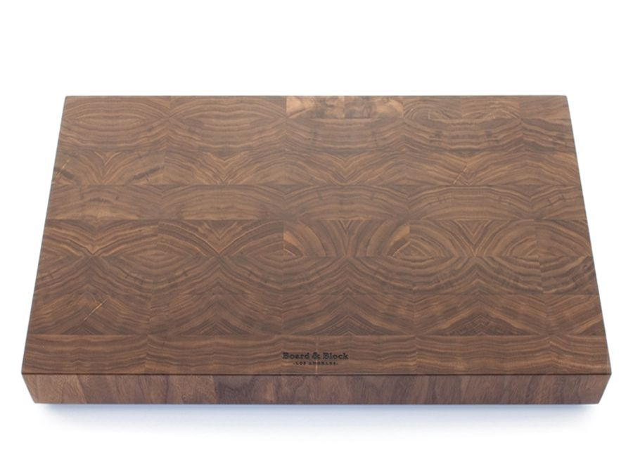 hand crafted american black walnut end grain butcher block