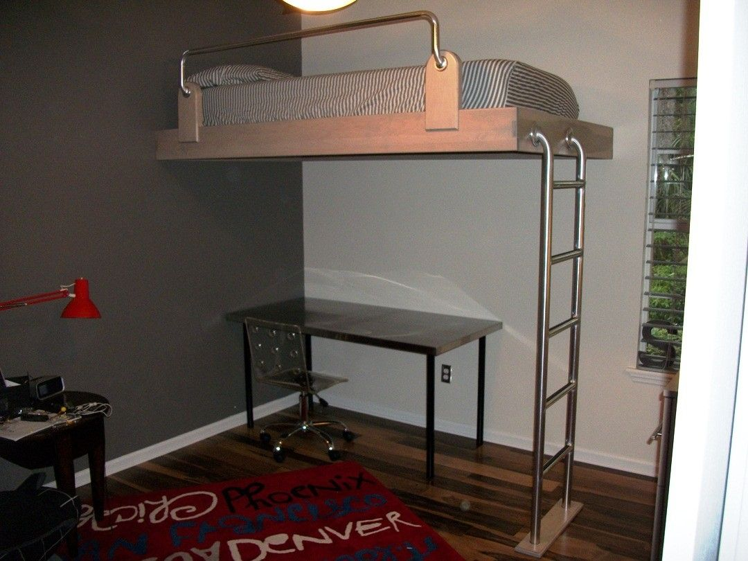 Custom Loft Bed By Borders Woodworks