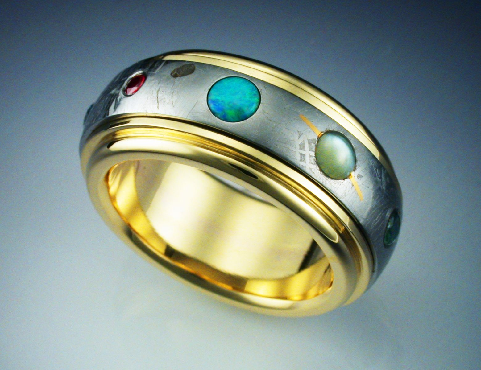 Buy a Hand Crafted The Nine Planets Ring, made to order ...