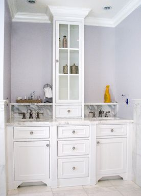 Hand Crafted Master Bath Vanity by The Woodworker's Studio ...