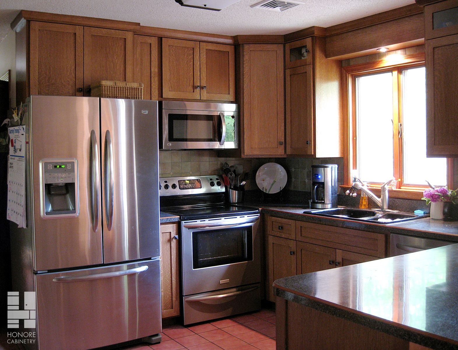 Kitchen Cabinets Made From Quarter Sawn Oak