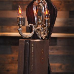 Custom ceiling fixtures - Lord of the rings book ends ...
