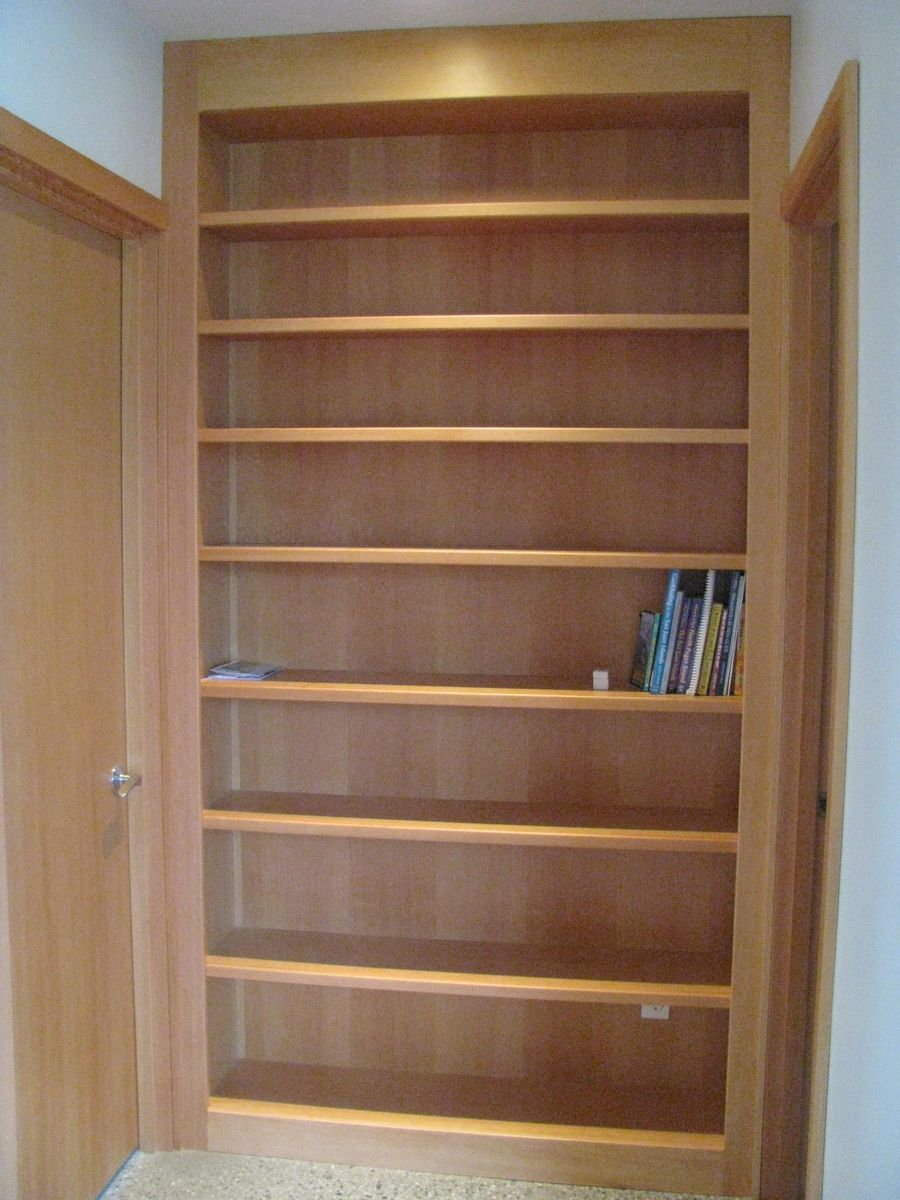Hand Made Built In Bookcase By Thomas Marine Interiors
