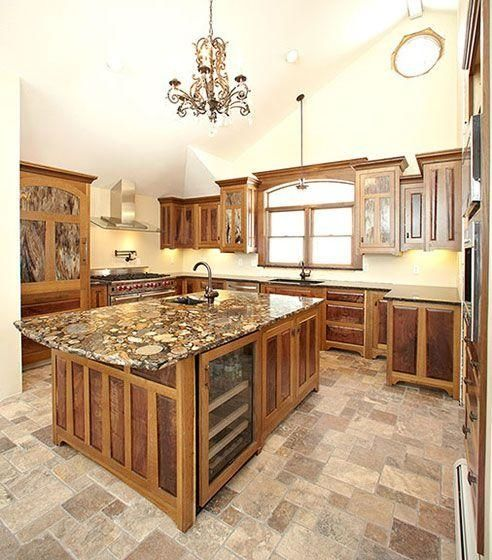 Today S Arts Crafts Kitchens: Hand Crafted Arts And Crafts Style Custom Kitchen By