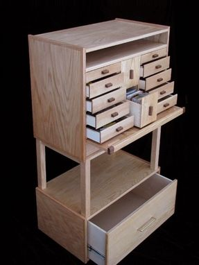 Custom Made Workstation Stand Up Desk By Noble Son