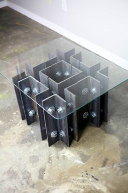Buy A Handmade Modern Industrial Coffee Or End Table