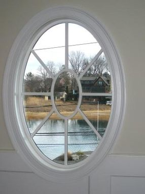 Custom Made Round And Oval Window Trim