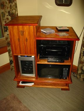 Hand Made Massage Cabinet By Sheridan Woodworking Llc