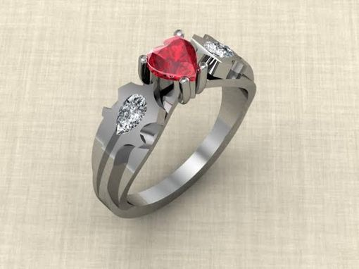 buy a custom warcraft horde inspired ring made to order