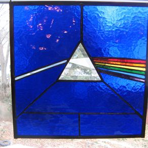 Custom made windows for Dark side of the moon mural