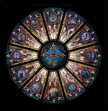 Custom Made Rose Window