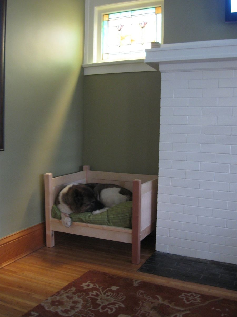 Handmade Day Bed For An Akita By Tom Jansson Custom