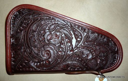 Custom Made Leather Gun (Pistol) Case