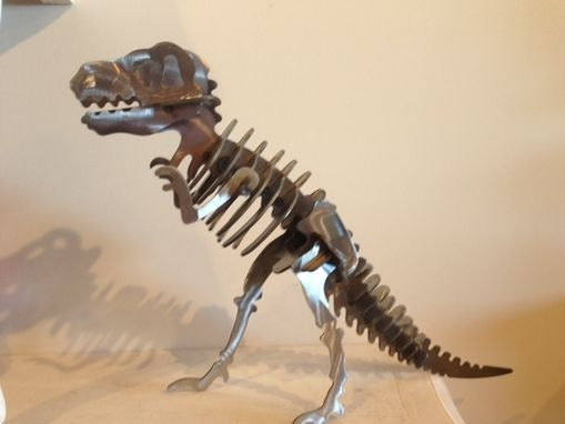 Custom Made Metal Dinosaur By Rust To Dust Fabrications