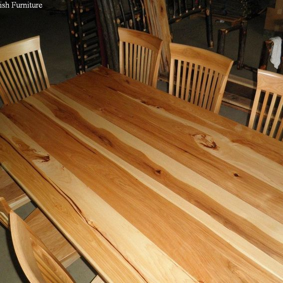 Handmade Dining Room Tables: Custom Dining Room Table & Chairs By Old Farm Amish