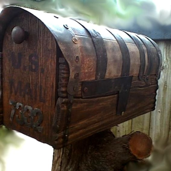 Handmade Custom Country Style Rustic Mailbox By Workshop