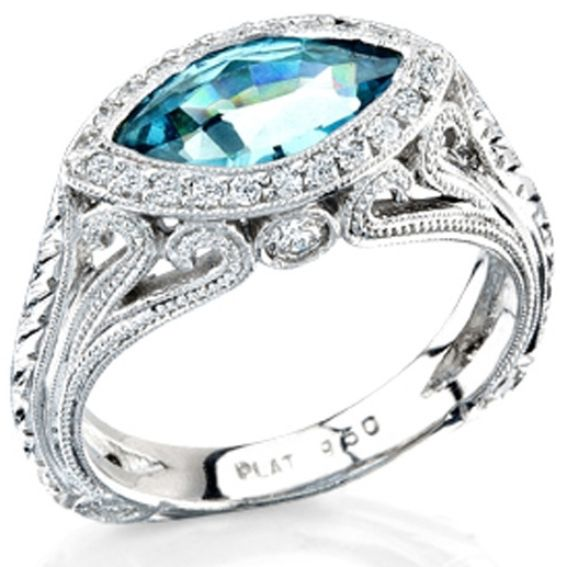 Custom Made Sossi Jewelry Home: Buy A Handmade 18 Kt Ladies Diamond Ring With A Marque