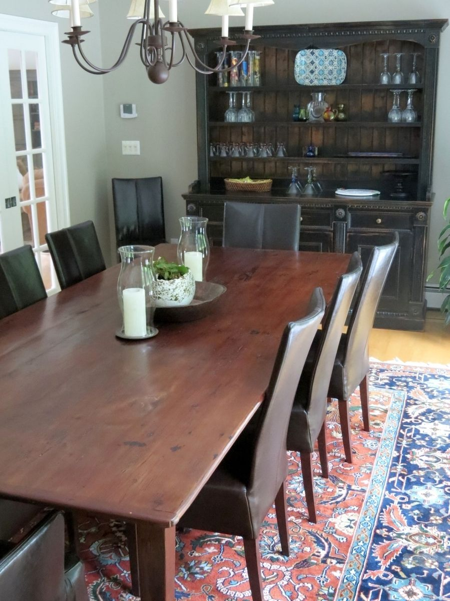Hand Crafted Classic 10ft Farmhouse Dining Table From