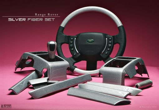 Custom Made Custom Wood And Fiber Interiors For Range Rover Vehicles