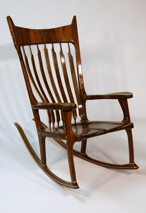 custom scuplted rocking chair by hayes furniture design custommade