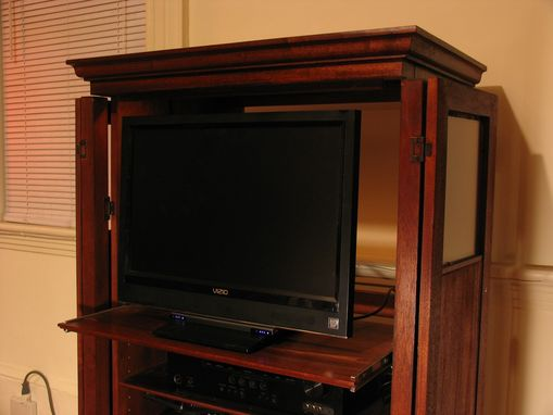 Custom Made Entertainment Center Armoire